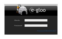 Pannello di controllo E-Gloo
