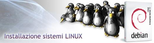Installazione sistemi Linux